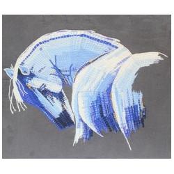 Le cheval bleu de Normandie