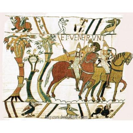 Le départ des Normands