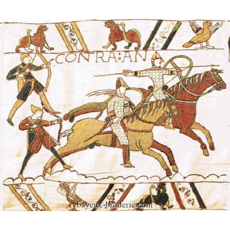 reproduction cavalerie hastings bayeux broderie