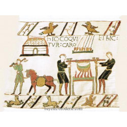 kit à  broder tapisserie Bayeux