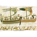 kit à  broder tapisserie Bayeux deux drakkars