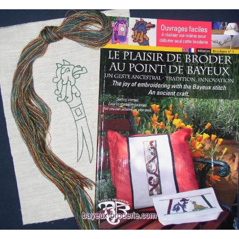 Bayeux broderie kit à broder OFFRE DECOUVERTE