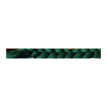 7gr LAINE (100 brins vert foncé) à broder tapisserie Bayeux