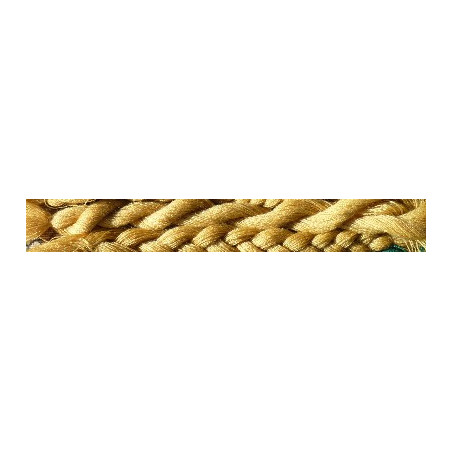 50 gr LAINE (jaune) à broder Tapisserie de Bayeux