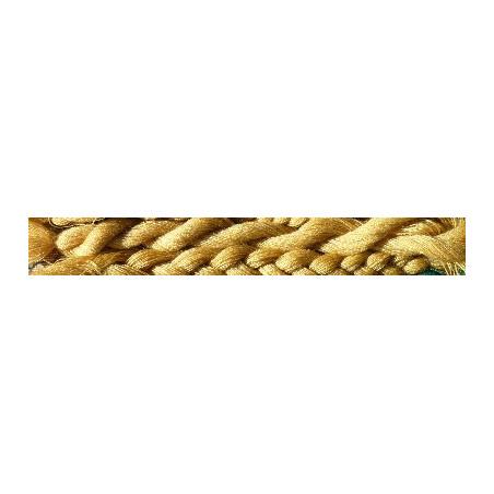 7 gr LAINE (100 brins jaune) à broder Tapisserie de Bayeux