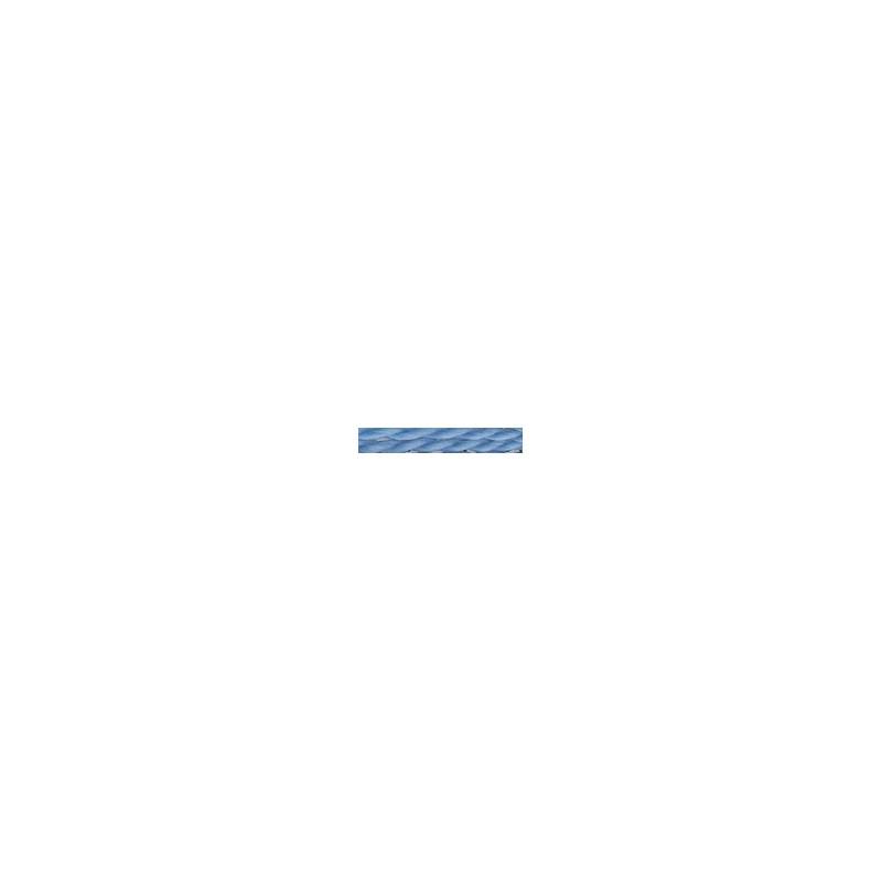 Tresse laine bleu clair