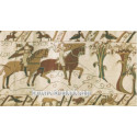 La chevauchée - Tapisserie de Bayeux