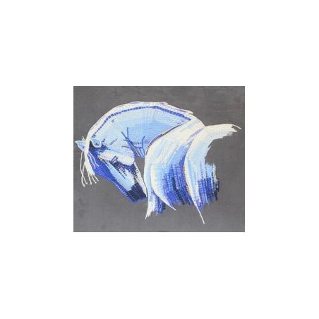 Le cheval bleu en Normandie