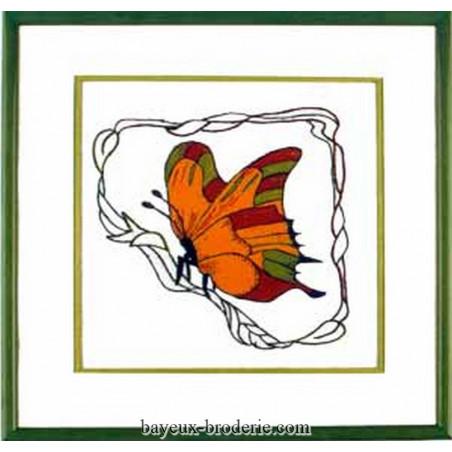 left butterfly - Papillon gauche -