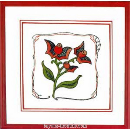 red flowers Fleur bouton