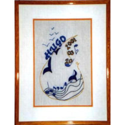 L'envol (personnalisé) - born embroidering