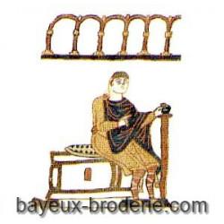 Guillaume sur son trône