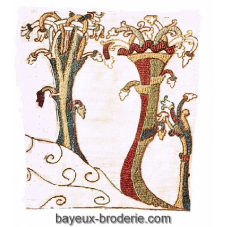 The three trees on the ill - Les 3 arbres sur la colline -