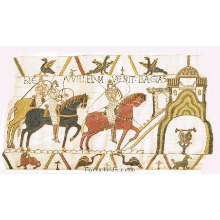 L'arrivée à Bayeux
